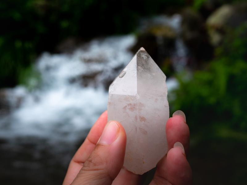 【制作のこと】水晶の原石を