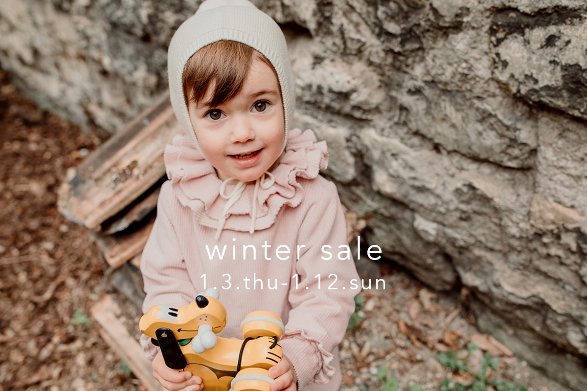 winter sale開催のお知らせ