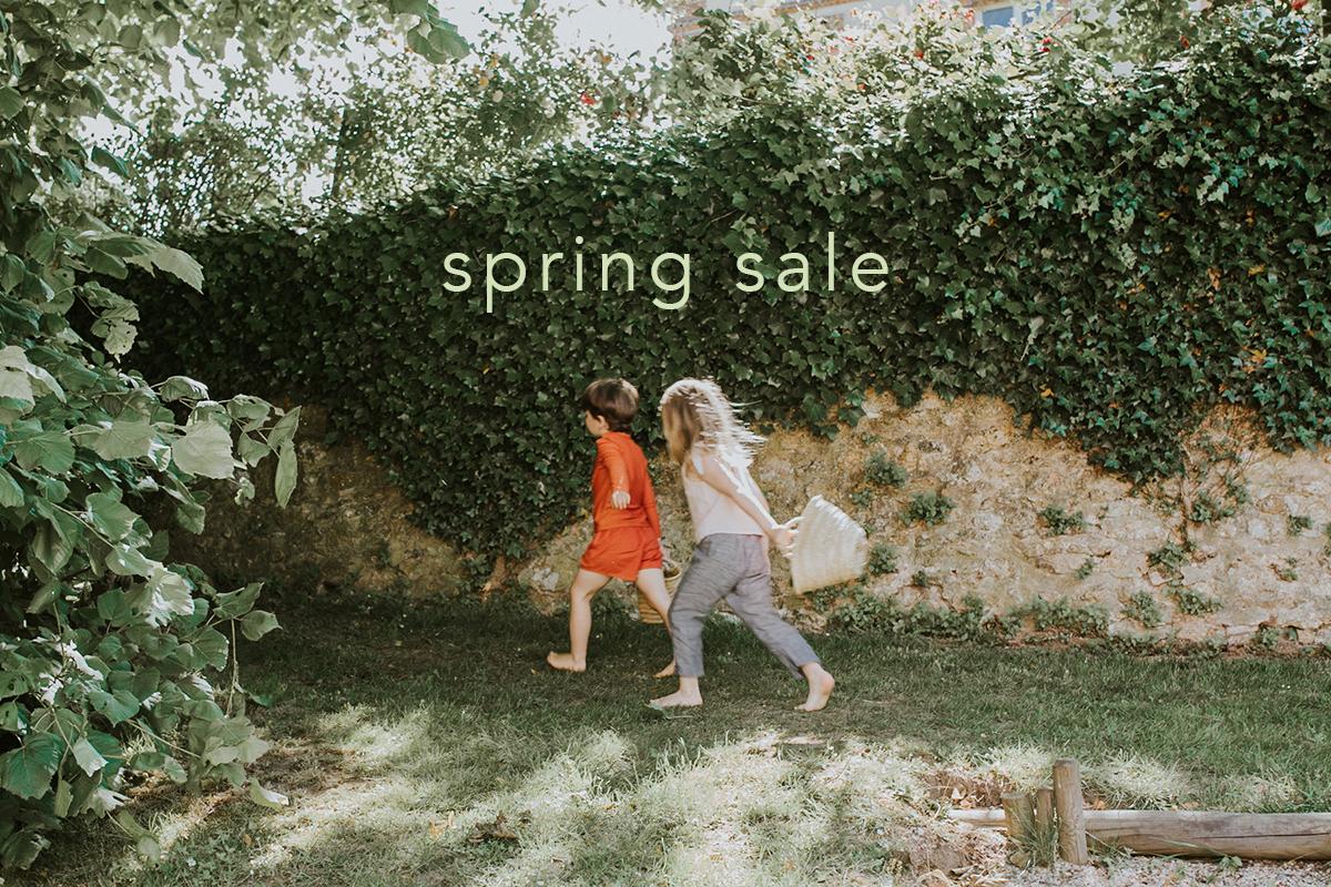 spring sale開催のお知らせ(4.24 - 5.6)