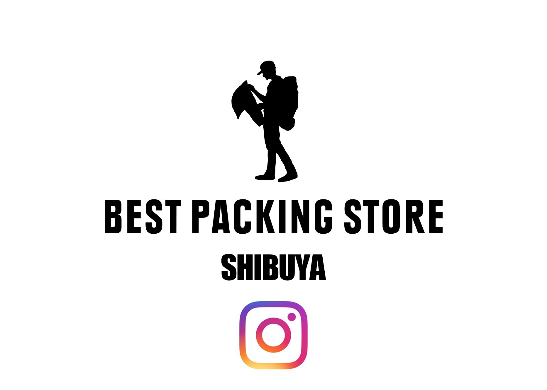 BEST PACKING STORE SHIBUYA INSTAGRAM ACCOUNT START