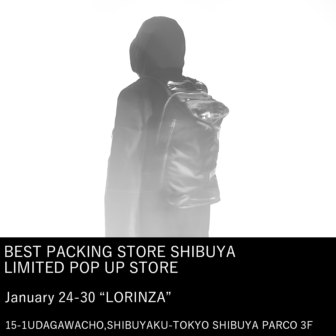 BEST PACKING STORE SHIBUYA LIMITED POP UP STORE