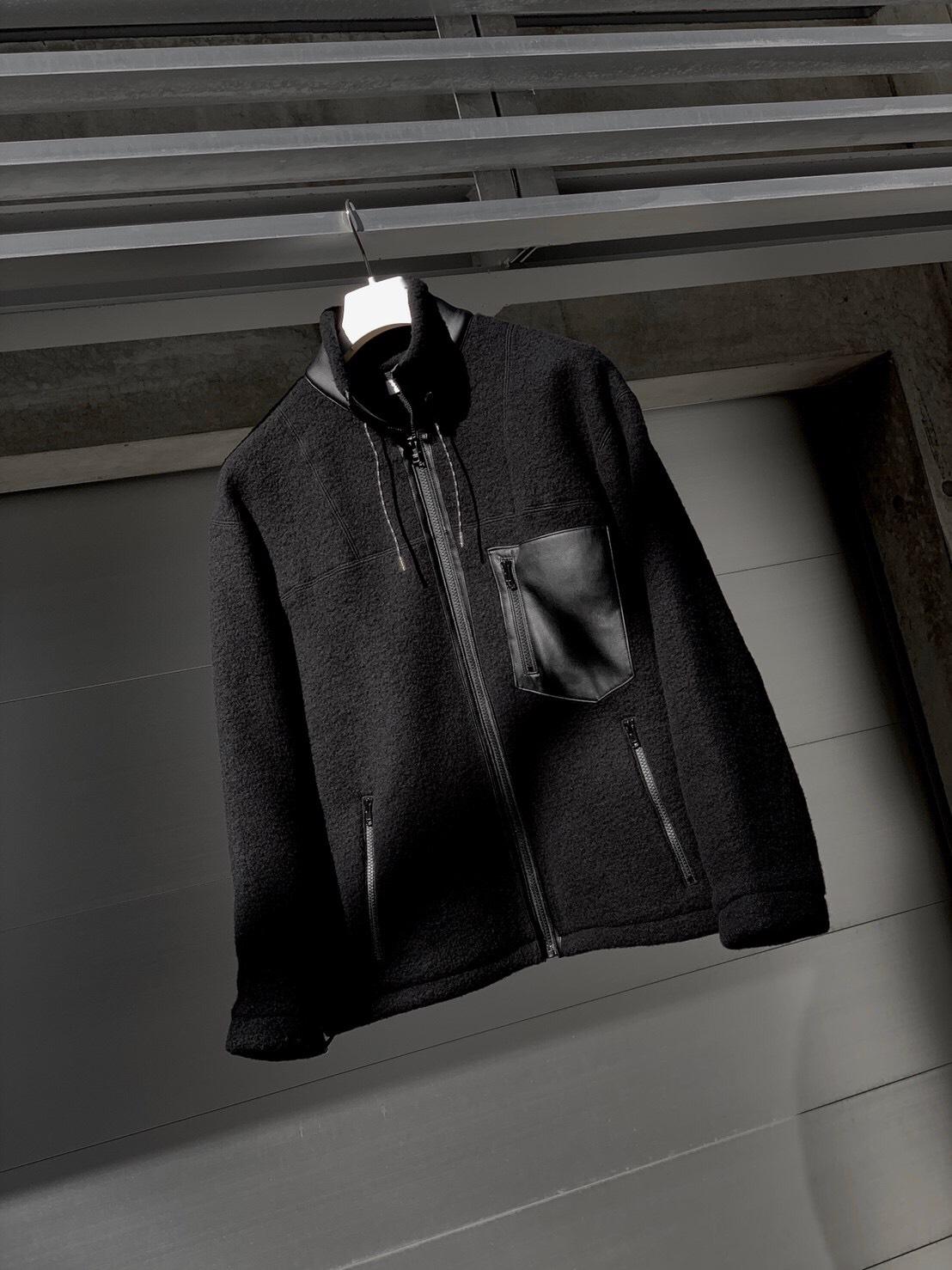 FW19.ALLEGE FOR BPS Fleece Jacket EXCLUSIVE MODEL