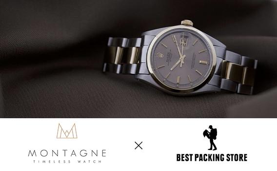 MONTAGNE - TIMELESS WATCH VINTAGE WATCH POP UP