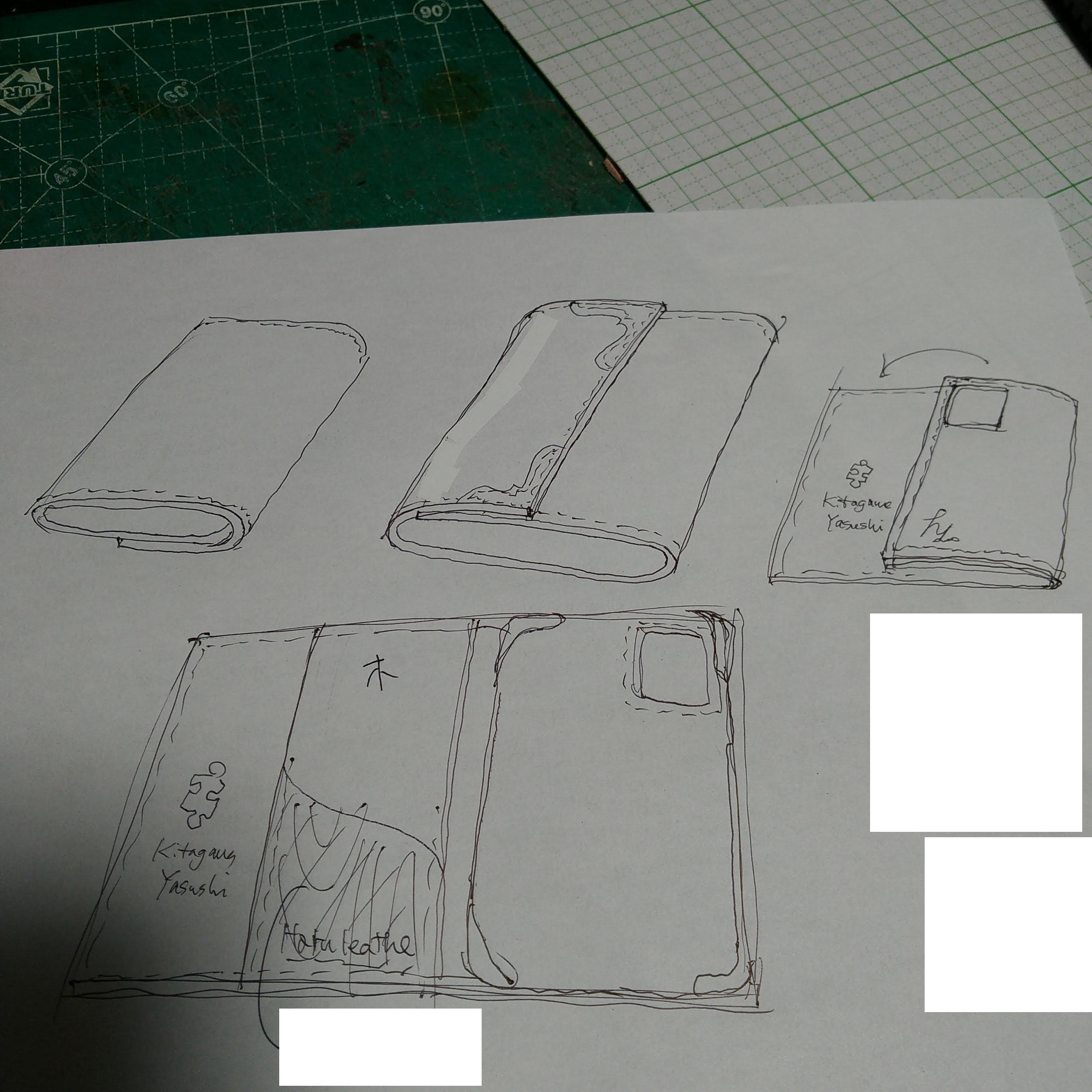 喜多川スペシャルスマホケース2 製作工程1