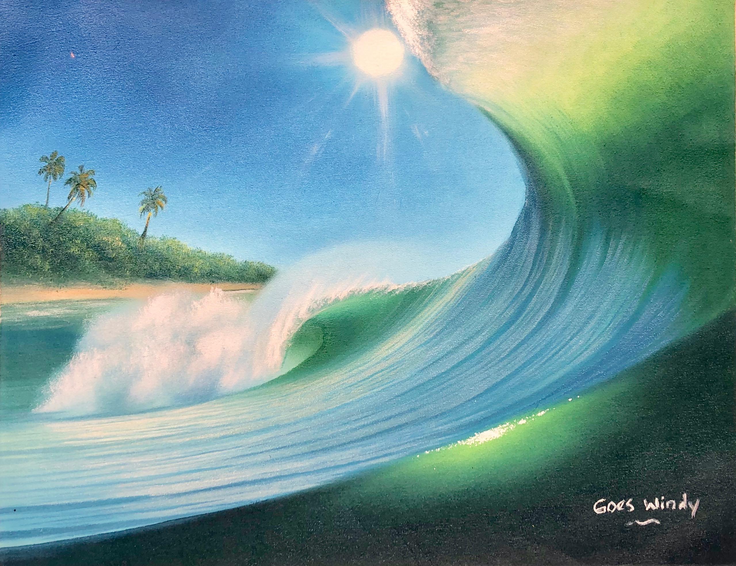 どんな波の絵を購入しようか迷われている方へ。