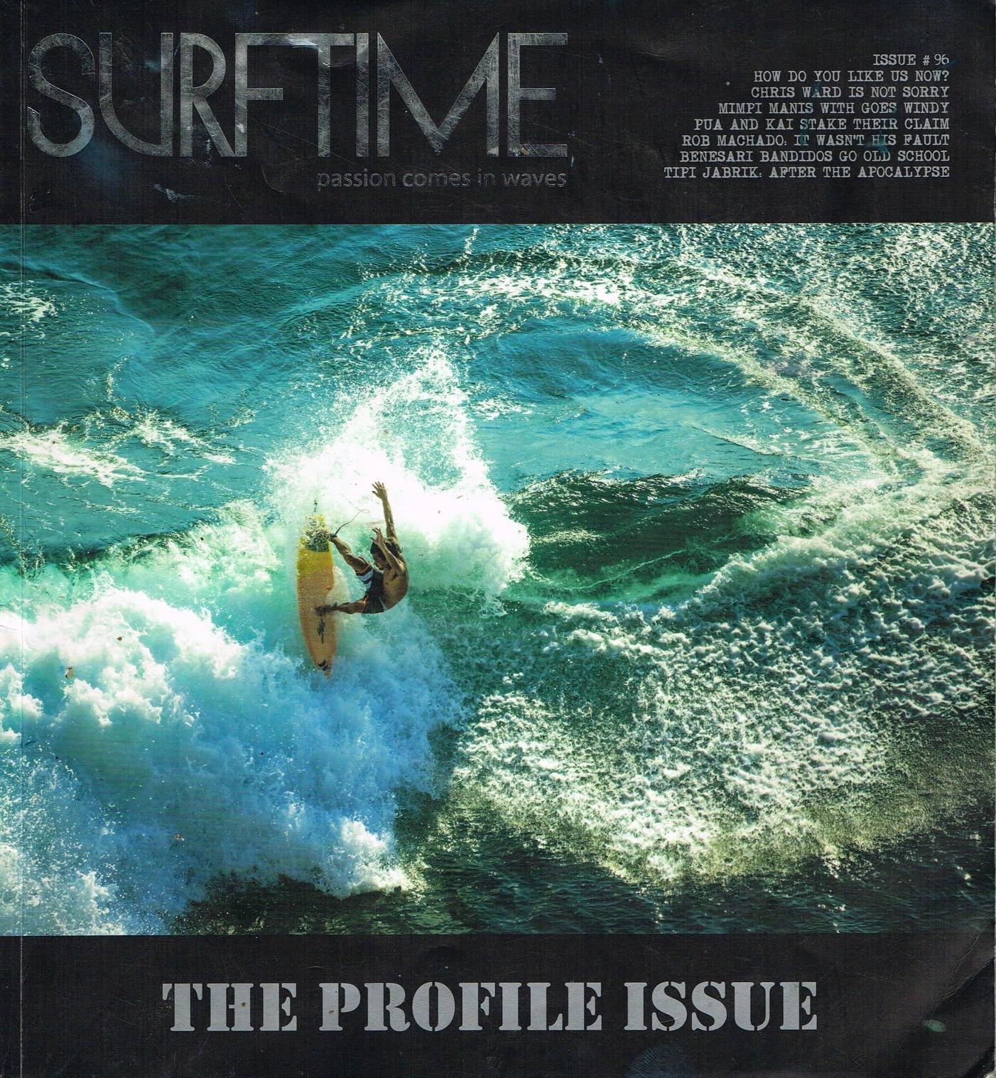 SURF TIME 掲載のお知らせ