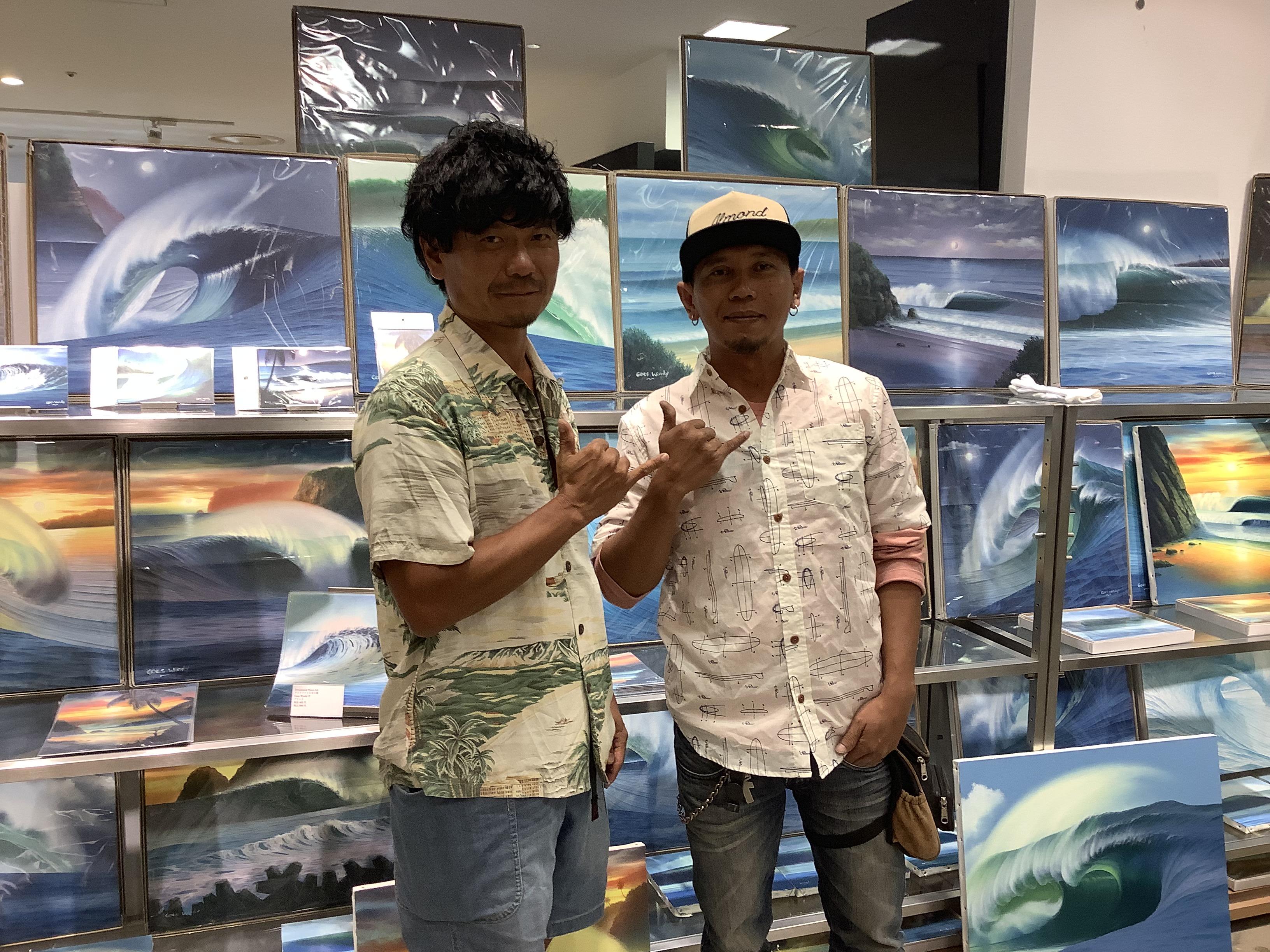 Almond Surfboards & Design 【アーモンド サーフ】様よりご提供頂きました。