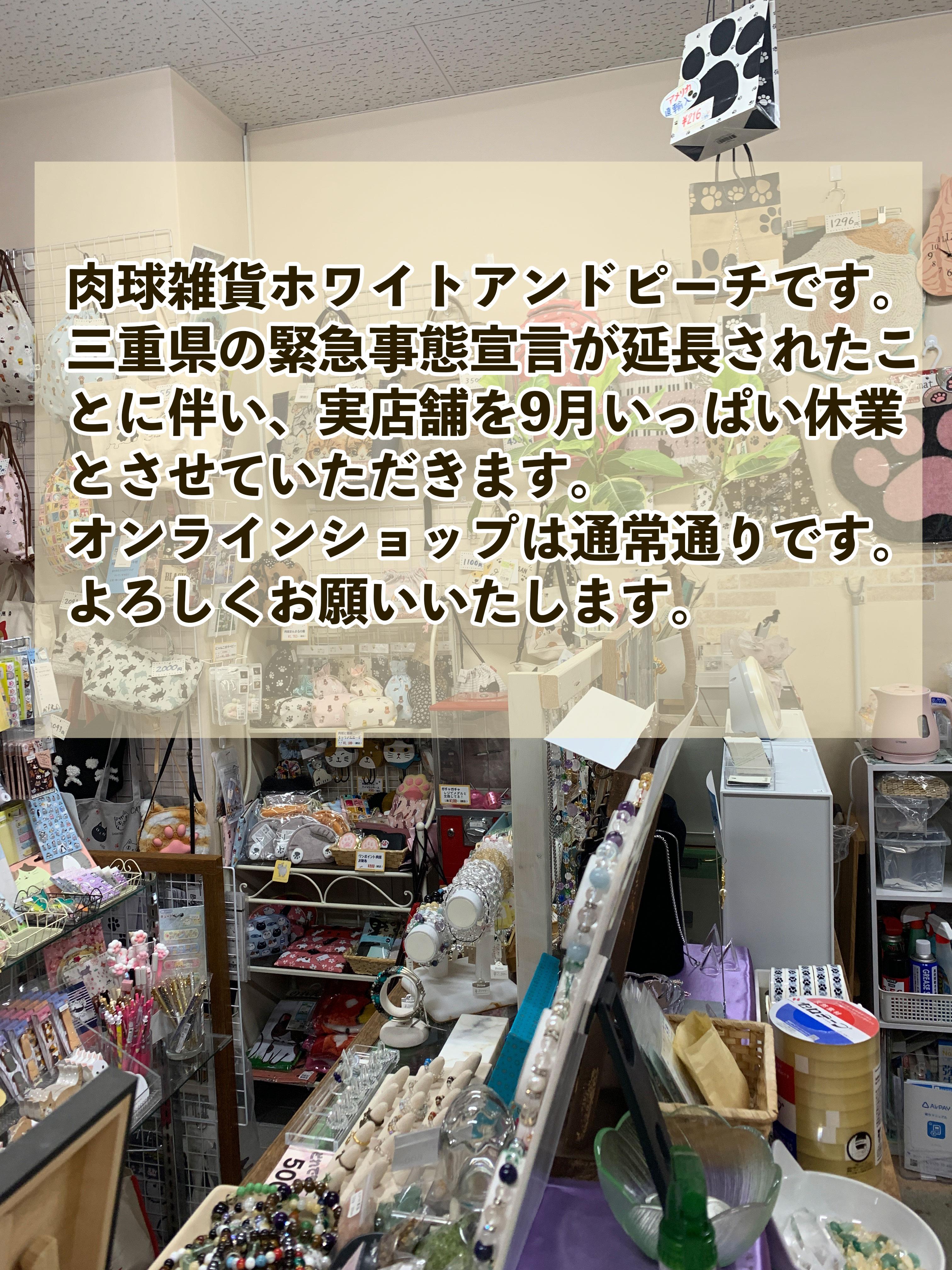 実店舗・臨時休業延長のお知らせ
