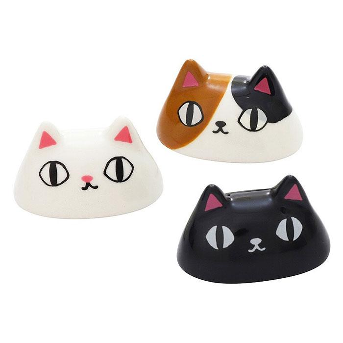 猫3兄弟箸置の紹介!
