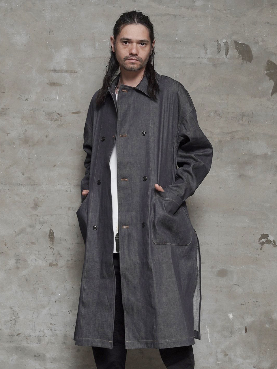EGO TRIPPING | 50'DOUBLE BUTTON SHOPCOAT