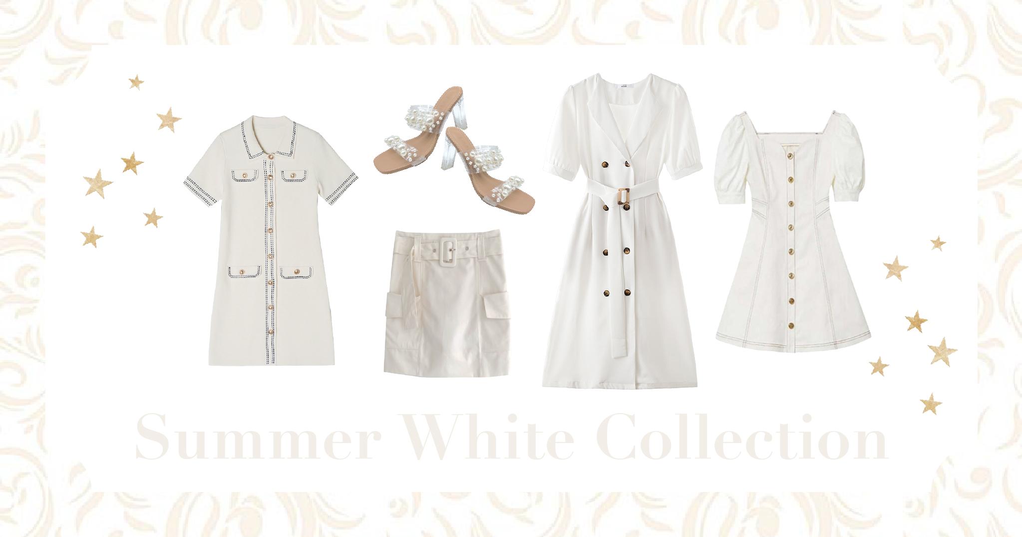 すっきり軽やか❤︎夏のホワイトコレクション!