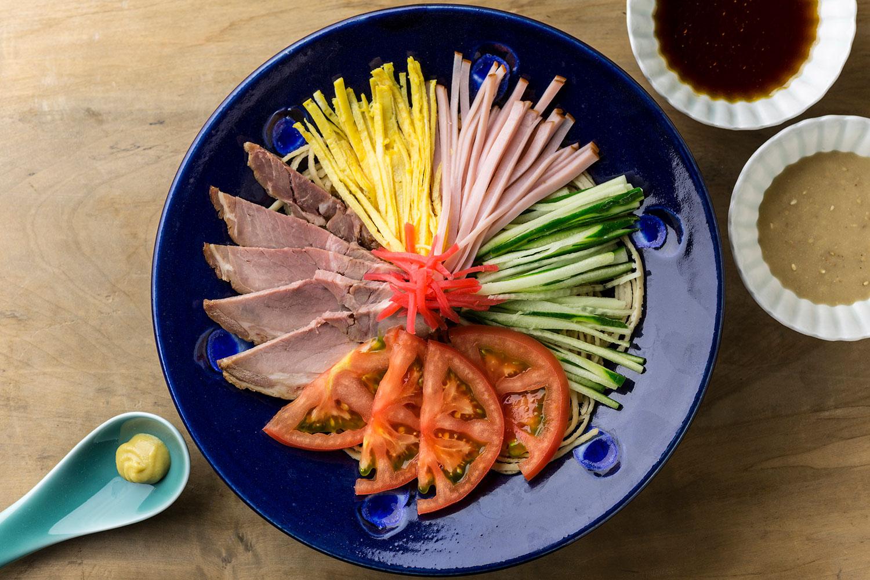 【レシピ】まーめんの冷し中華