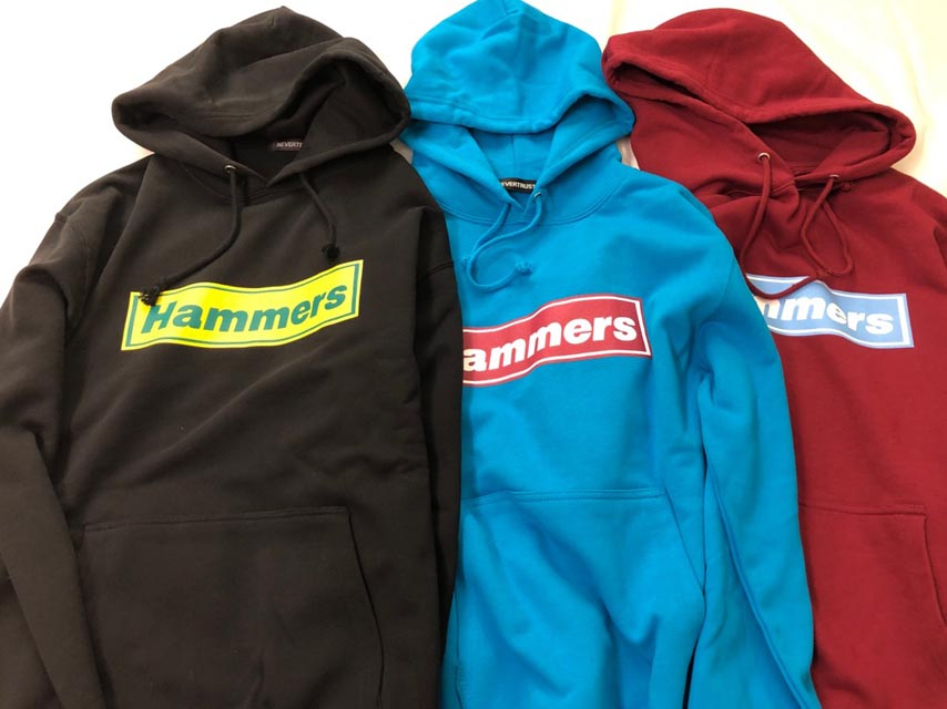Hammers Fooded Sweat Shirt
