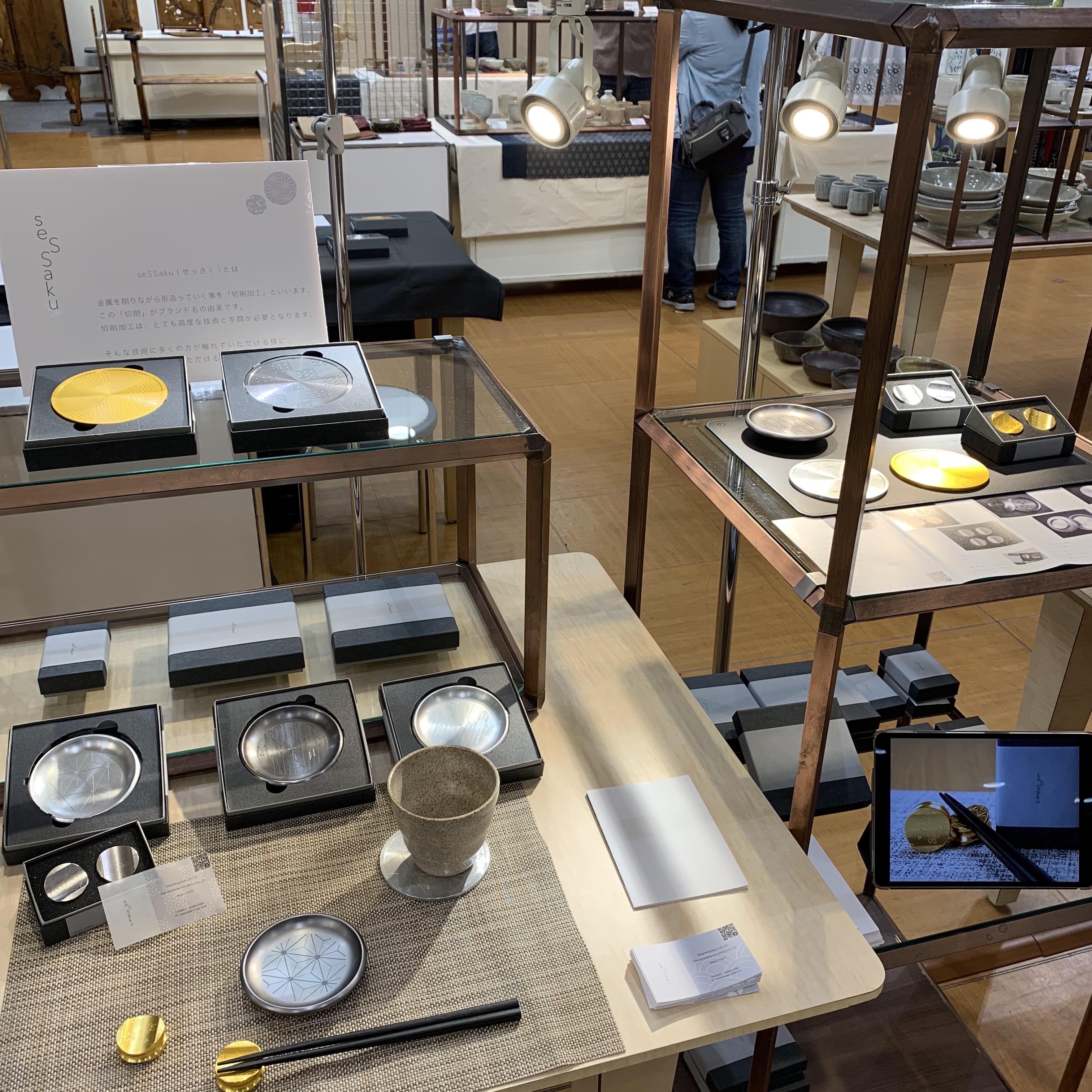 川西阪急 百貨店 催事出店しております。