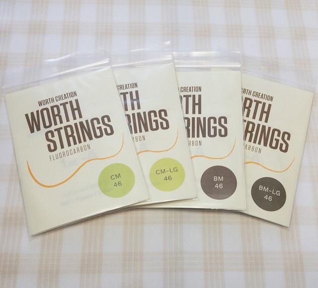 Worth Stringsの弦が入荷しました!