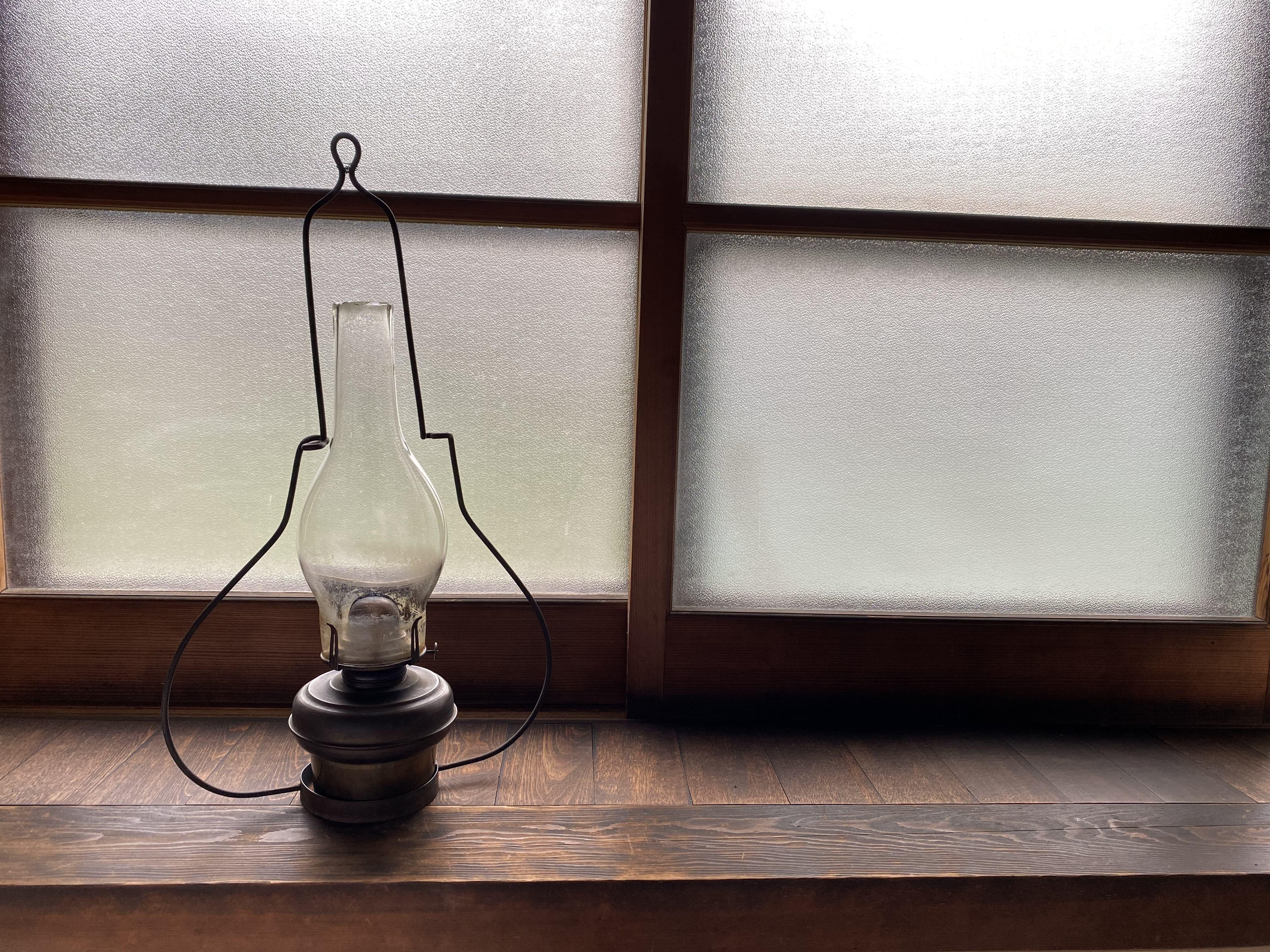 明治を灯す ~ランプのリペア