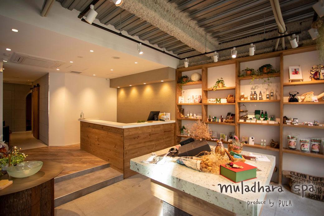 神戸 muladhara spa (dotto・CANDLEお取り扱い店)