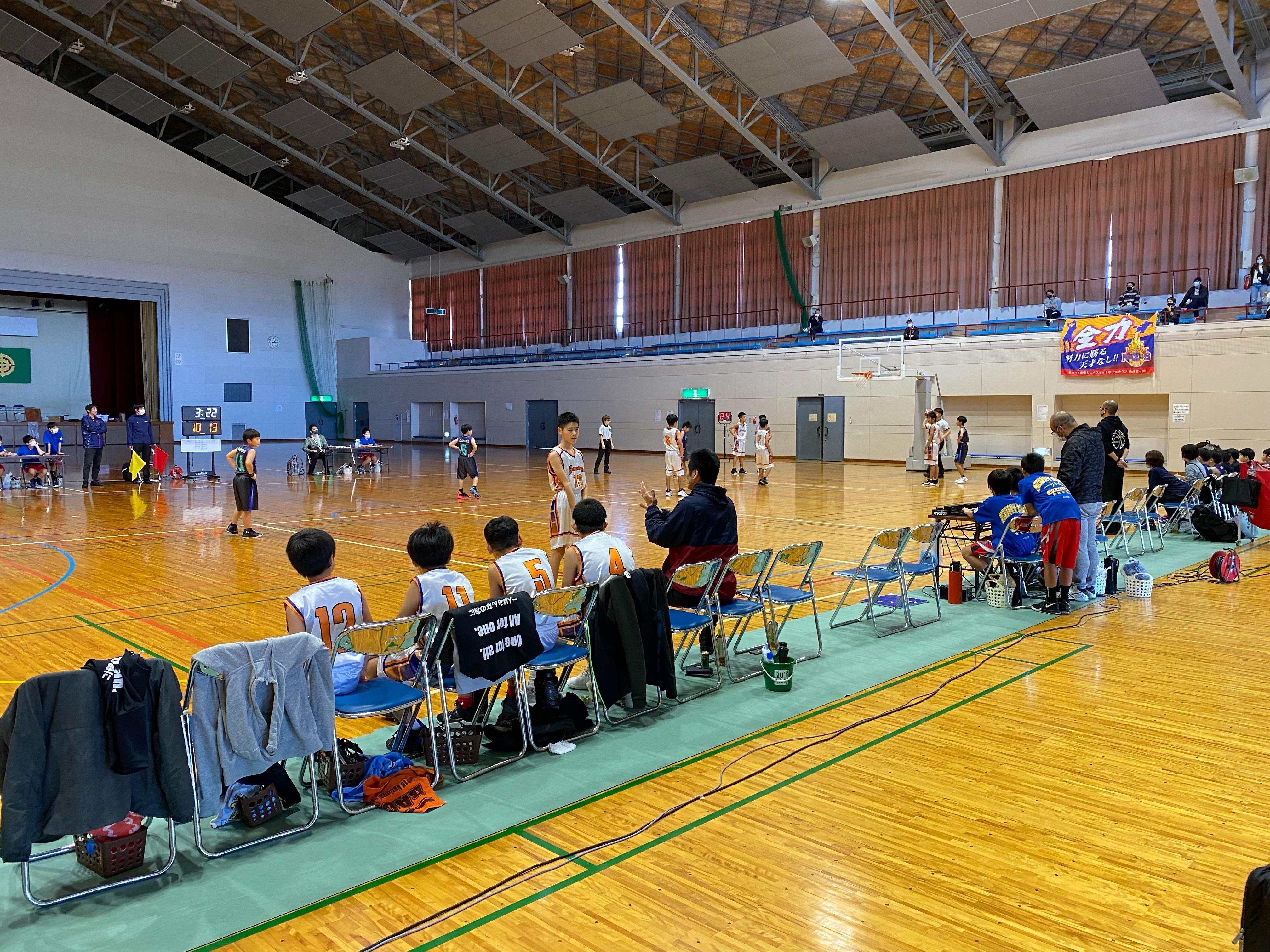 【ブース出店:大隅地区U12バスケットボール秋季大会】
