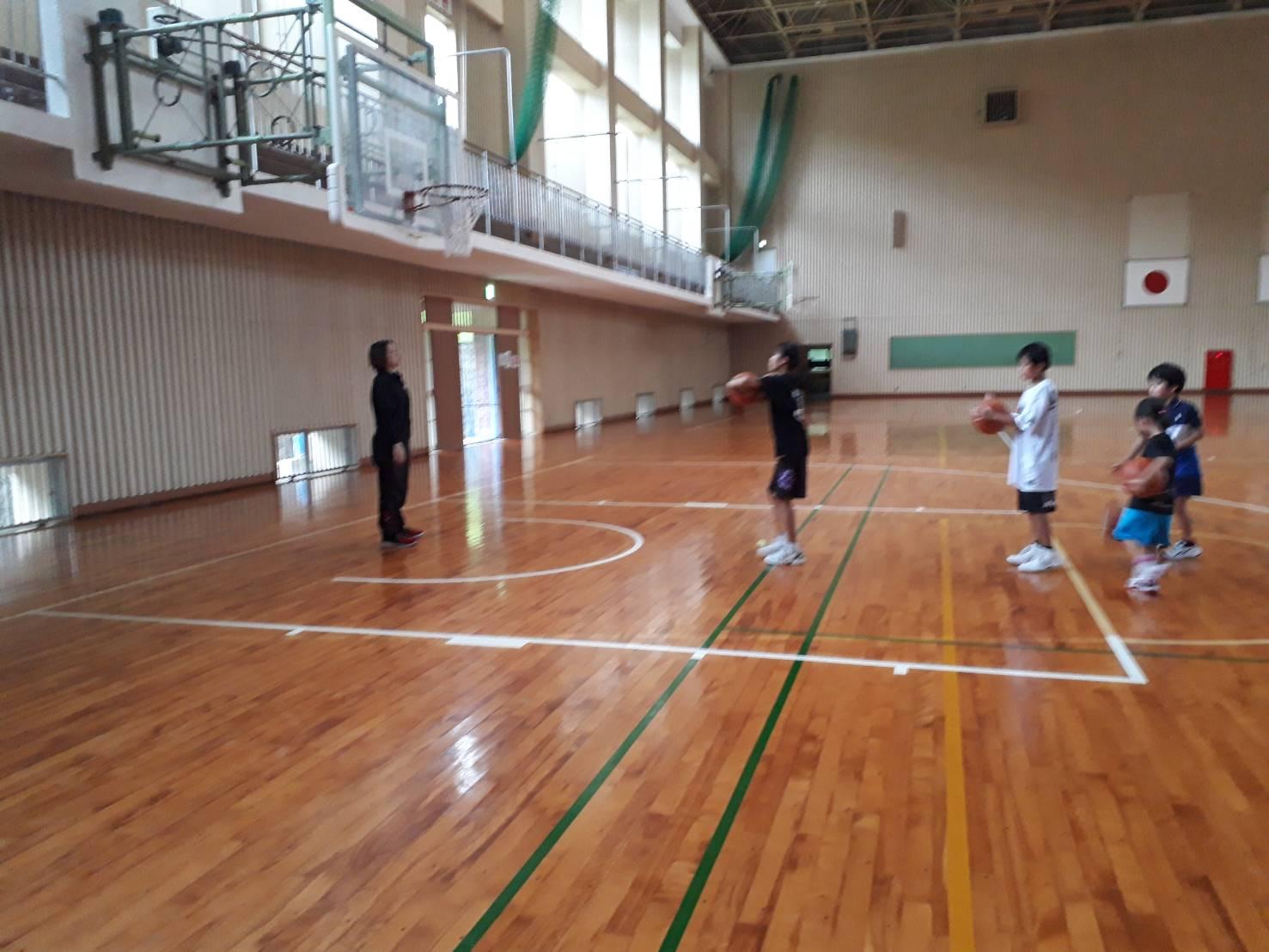 【日曜日は川内校のバスケットボール教室DAYでした。】