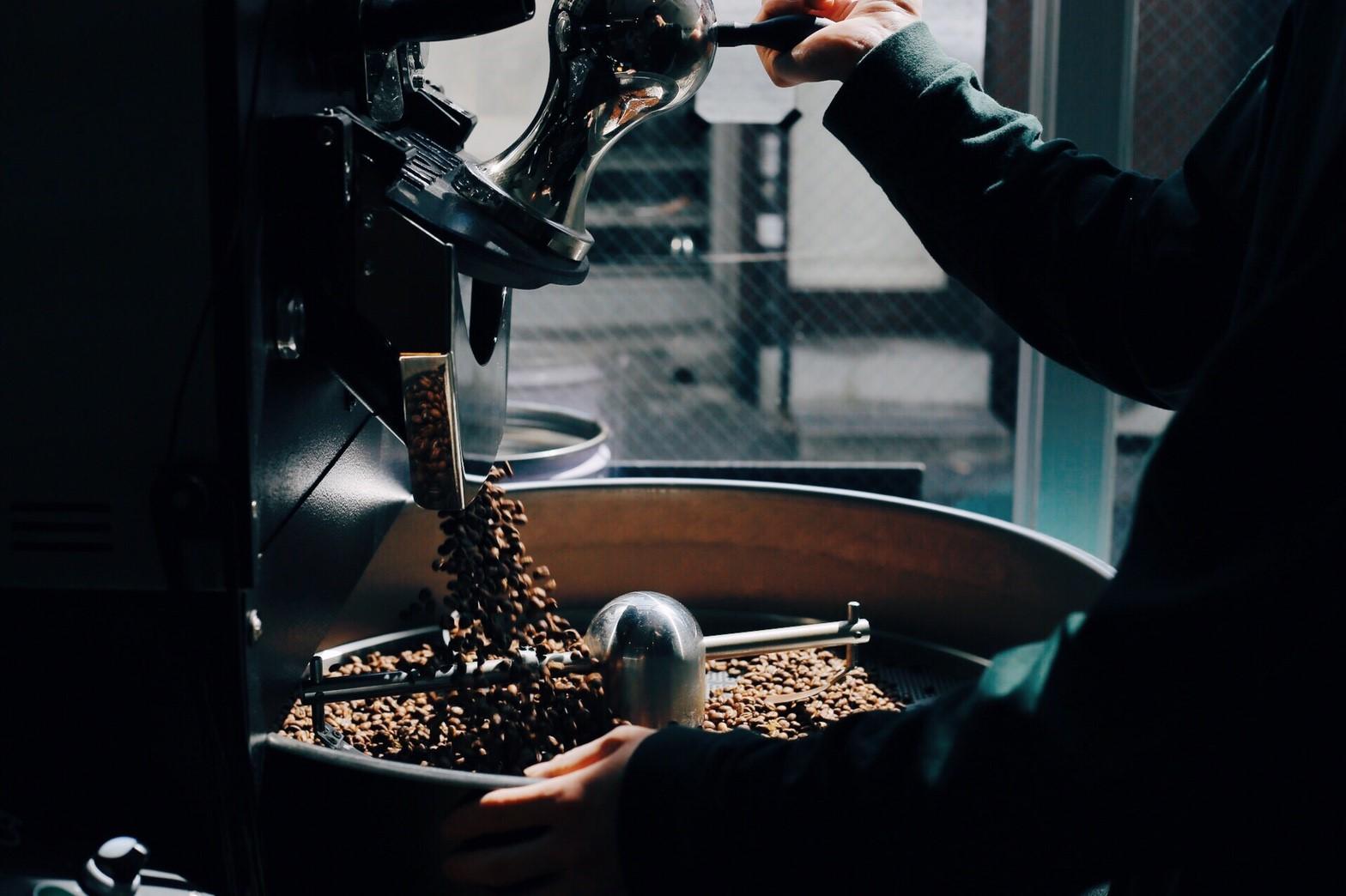 コーヒー豆の卸販売や、独立開業のお手伝い