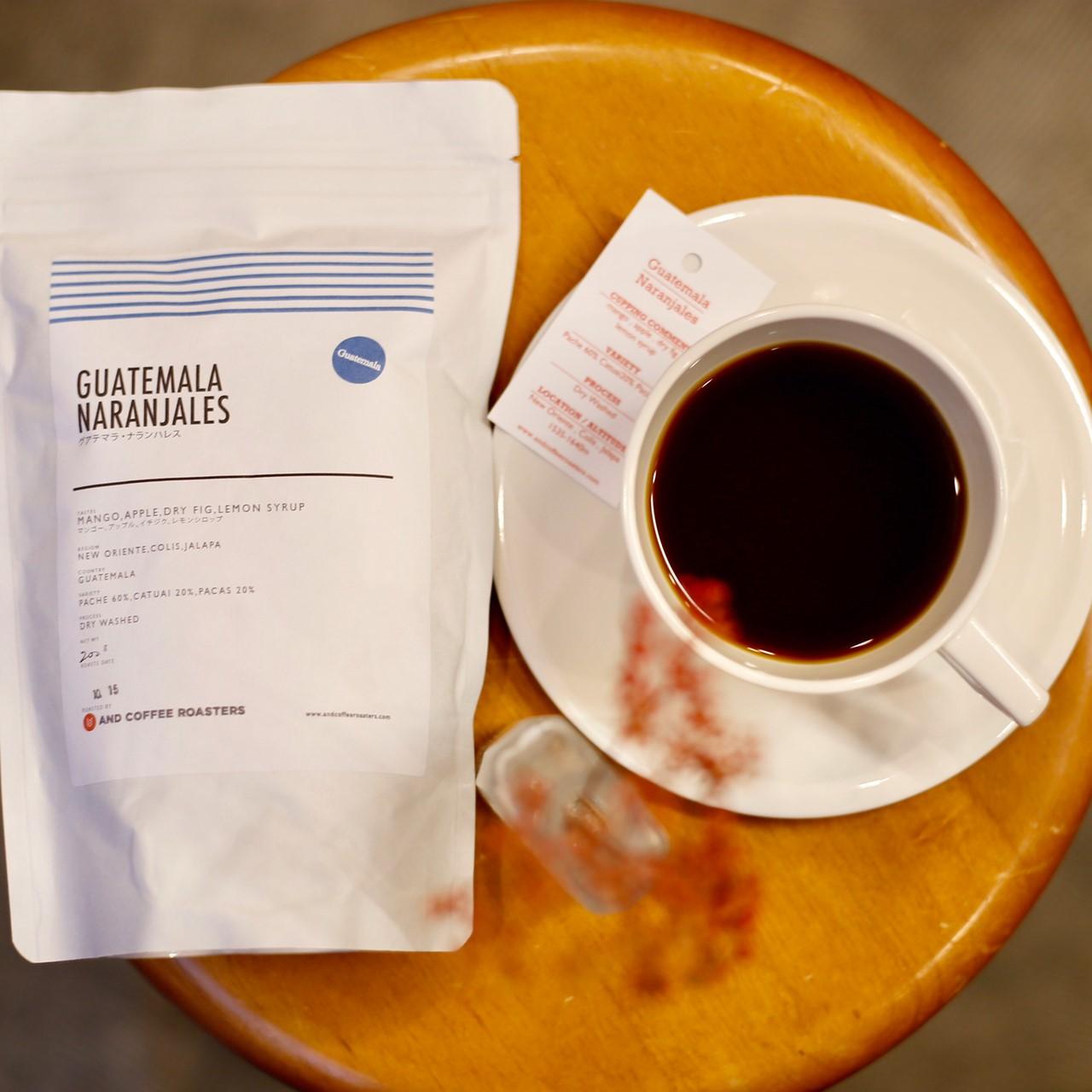 【再入荷!】GOOD COFFEE FARMSからグアテマラ ナランハレスが届きました