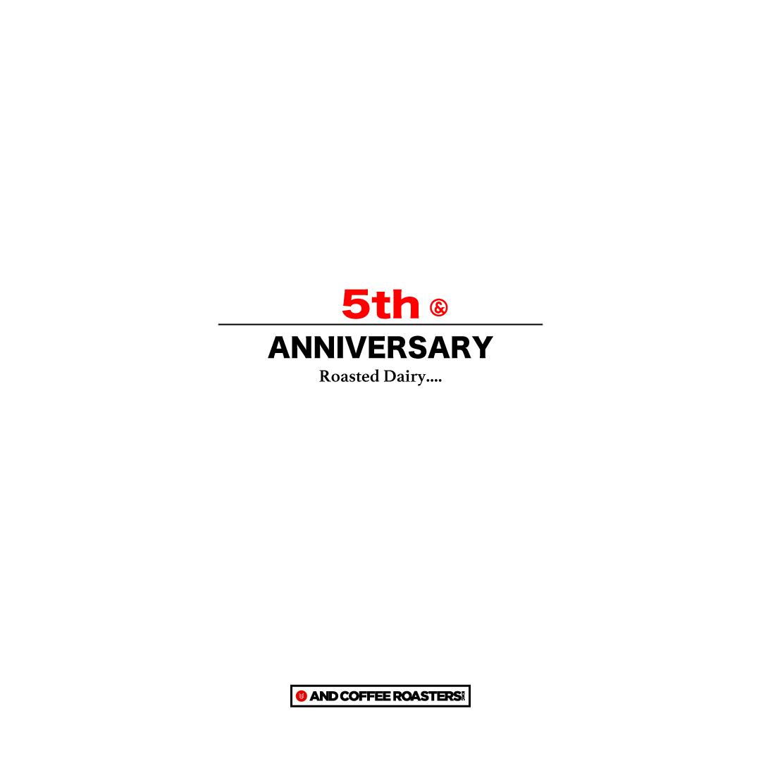 5周年!!