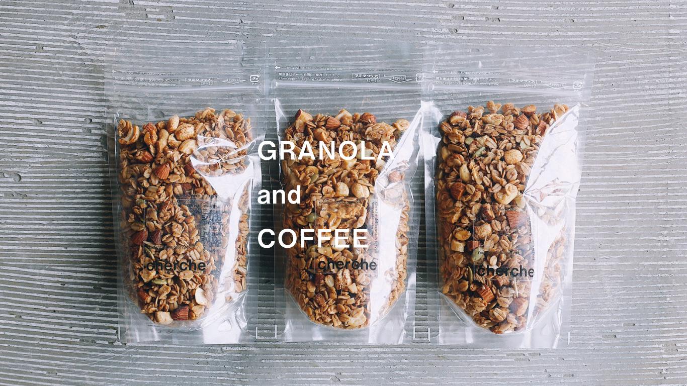 GRANOLA and COFFEE