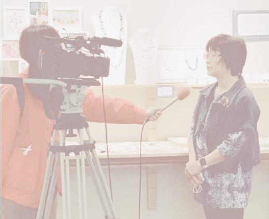 ケーブルテレビと中日新聞に取材頂きました