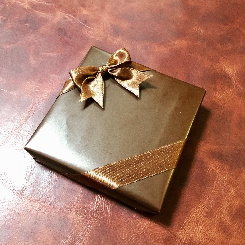 クリスマスプレゼント包装。