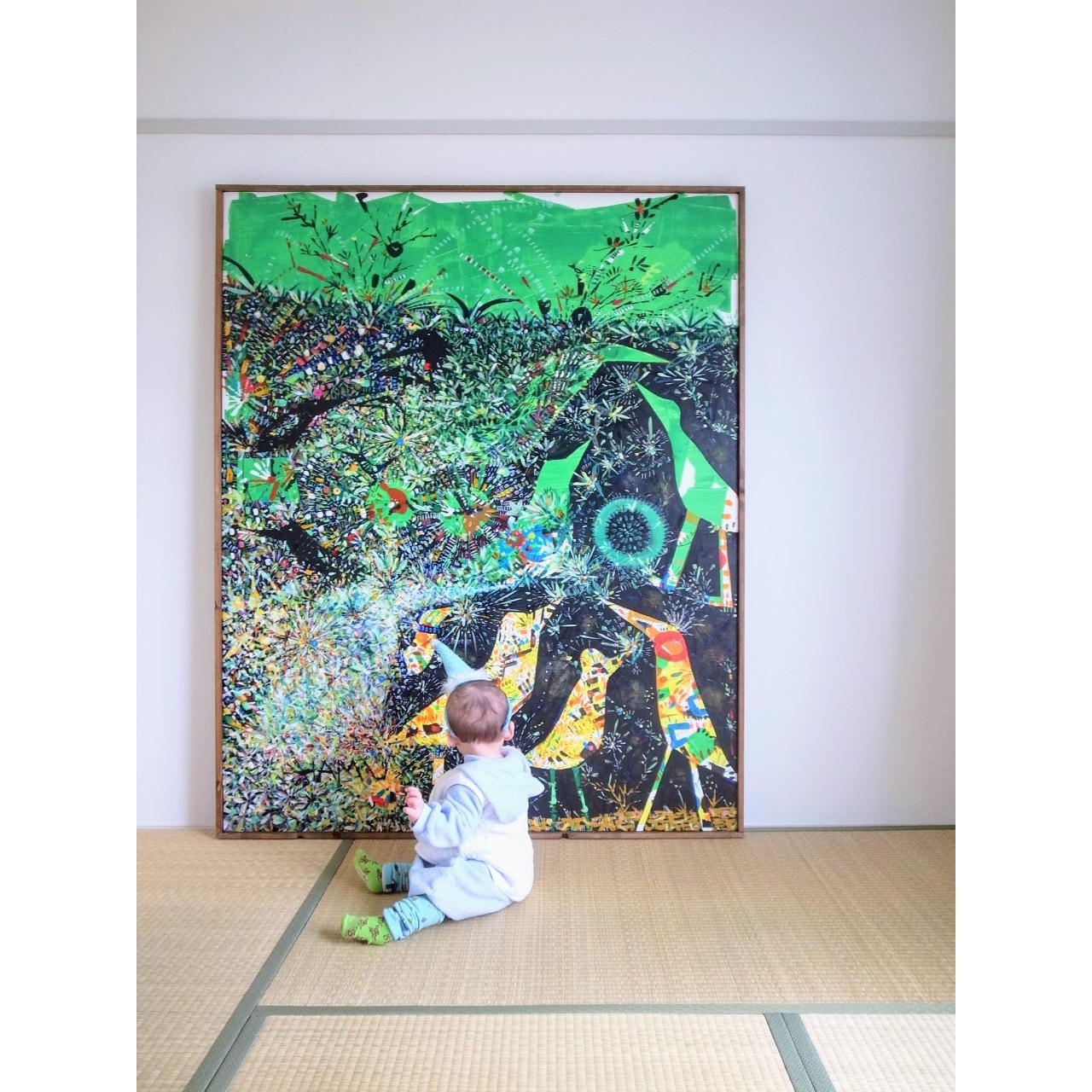 絵の楽しみ方 vol.2 -赤ちゃんと絵-
