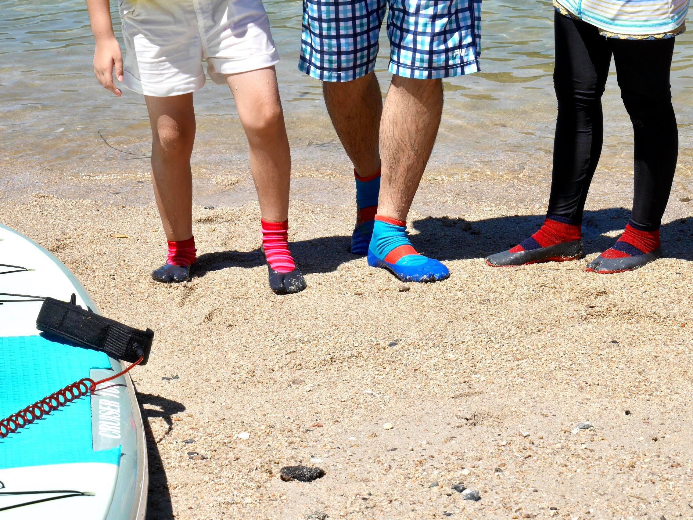 夏のビーチでSUPとシーカヤック体験