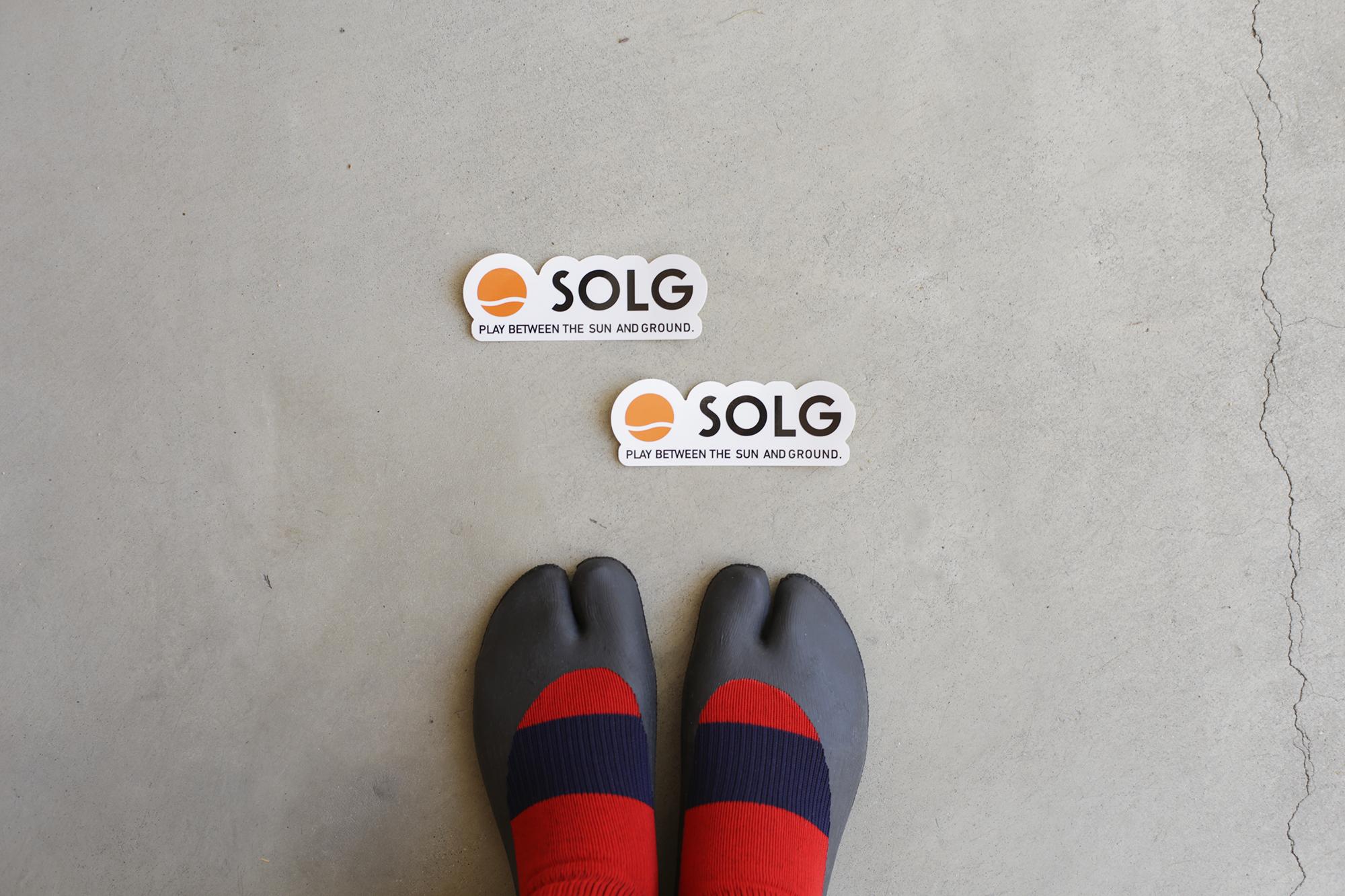 お買い上げの方へ、SOLGロゴステッカープレゼントキャンペーン