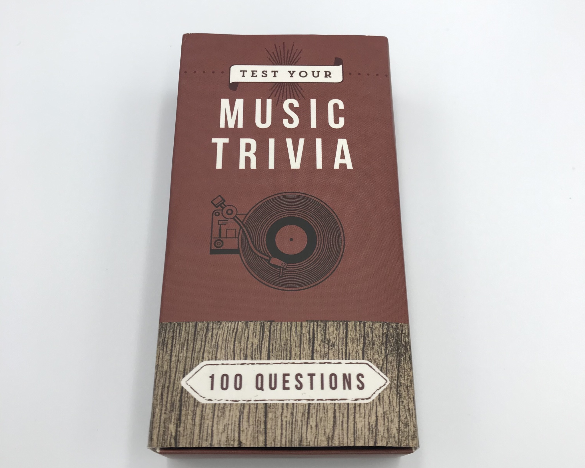 音楽トリビアのカードゲームとCD屋さんのはなし