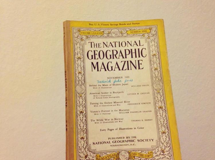 1945年11月号: ナショナルジオグラフィックマガジン