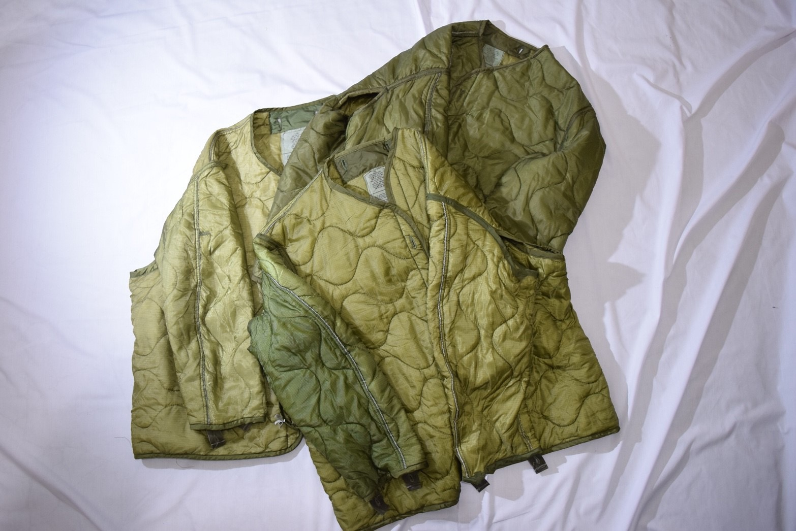 【着画】M-65 Liner jacket サイズ別着用画像