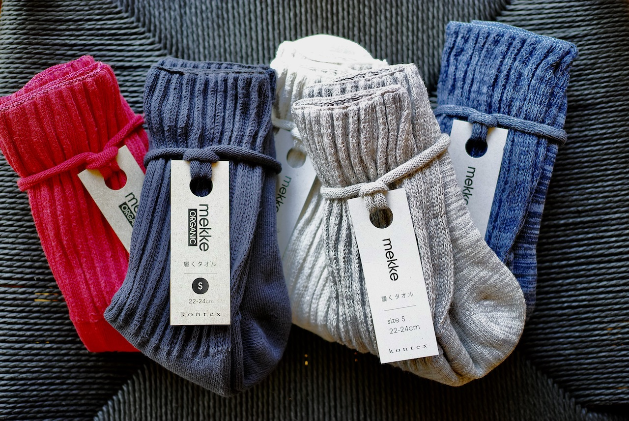 【お知らせ】mekke靴下Sサイズ入荷しました!