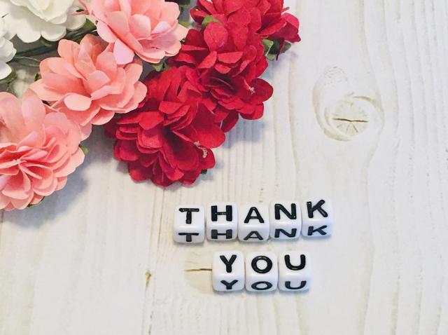 「感謝」お客さまの嬉しい写真を拝見しました
