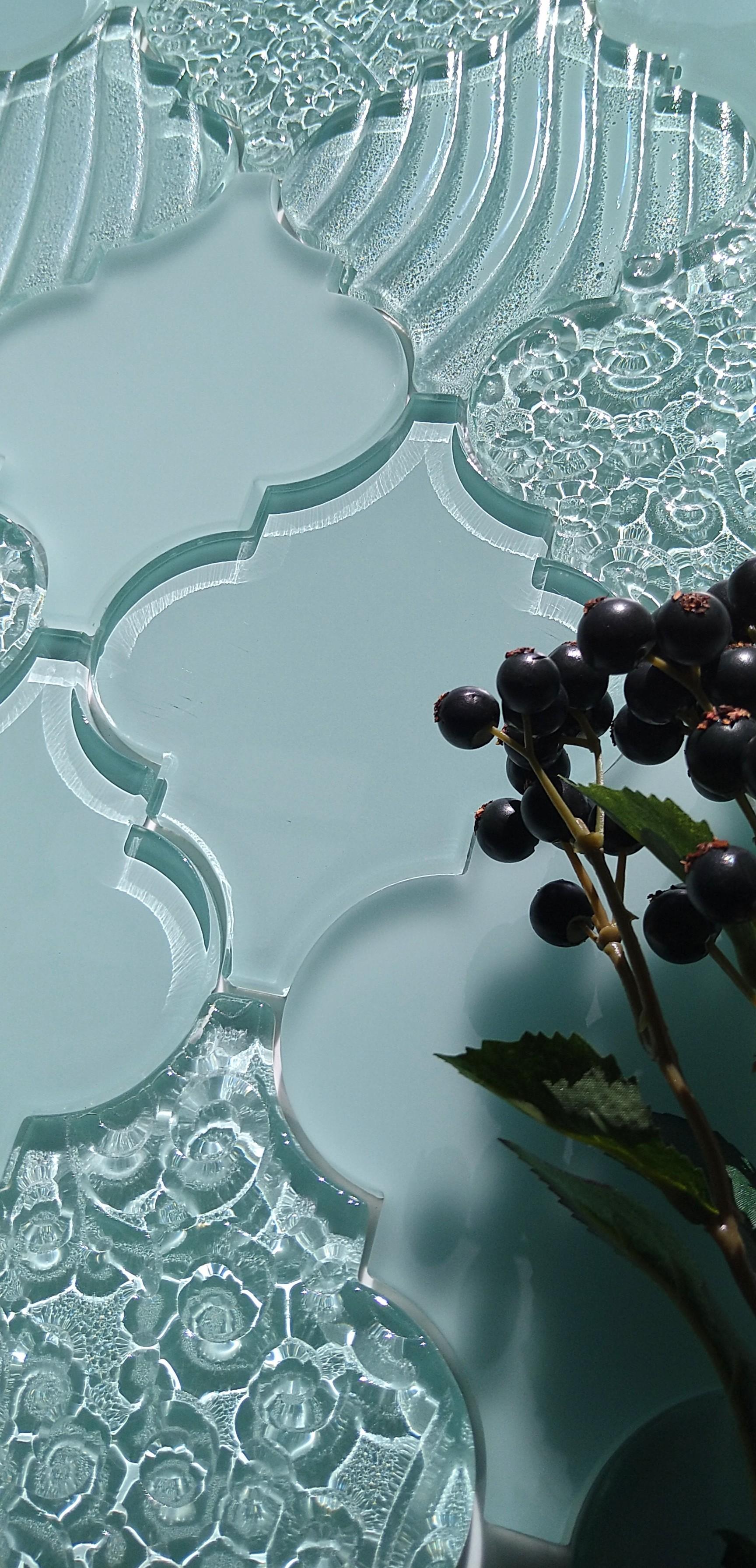 Lantana -Glass Blue-