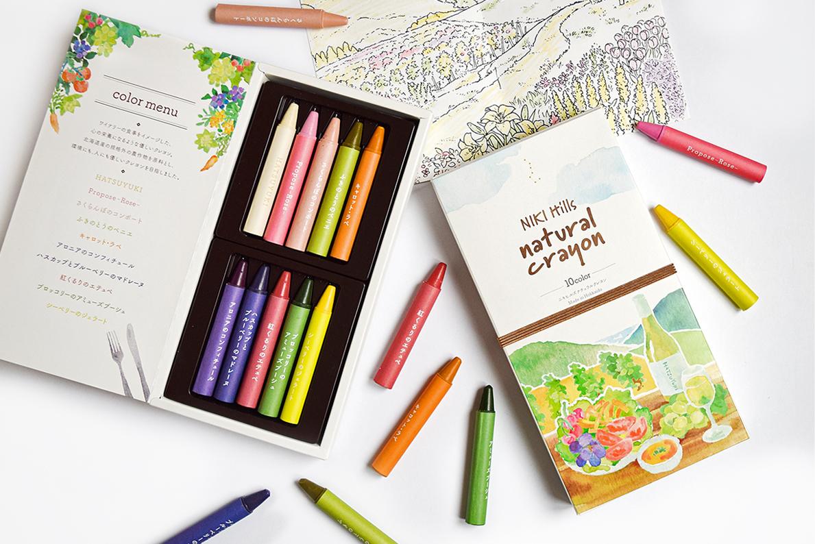「NIKI Hills natural crayon 」が販売開始