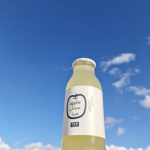 りんご100%ジュースの販売を開始しました!