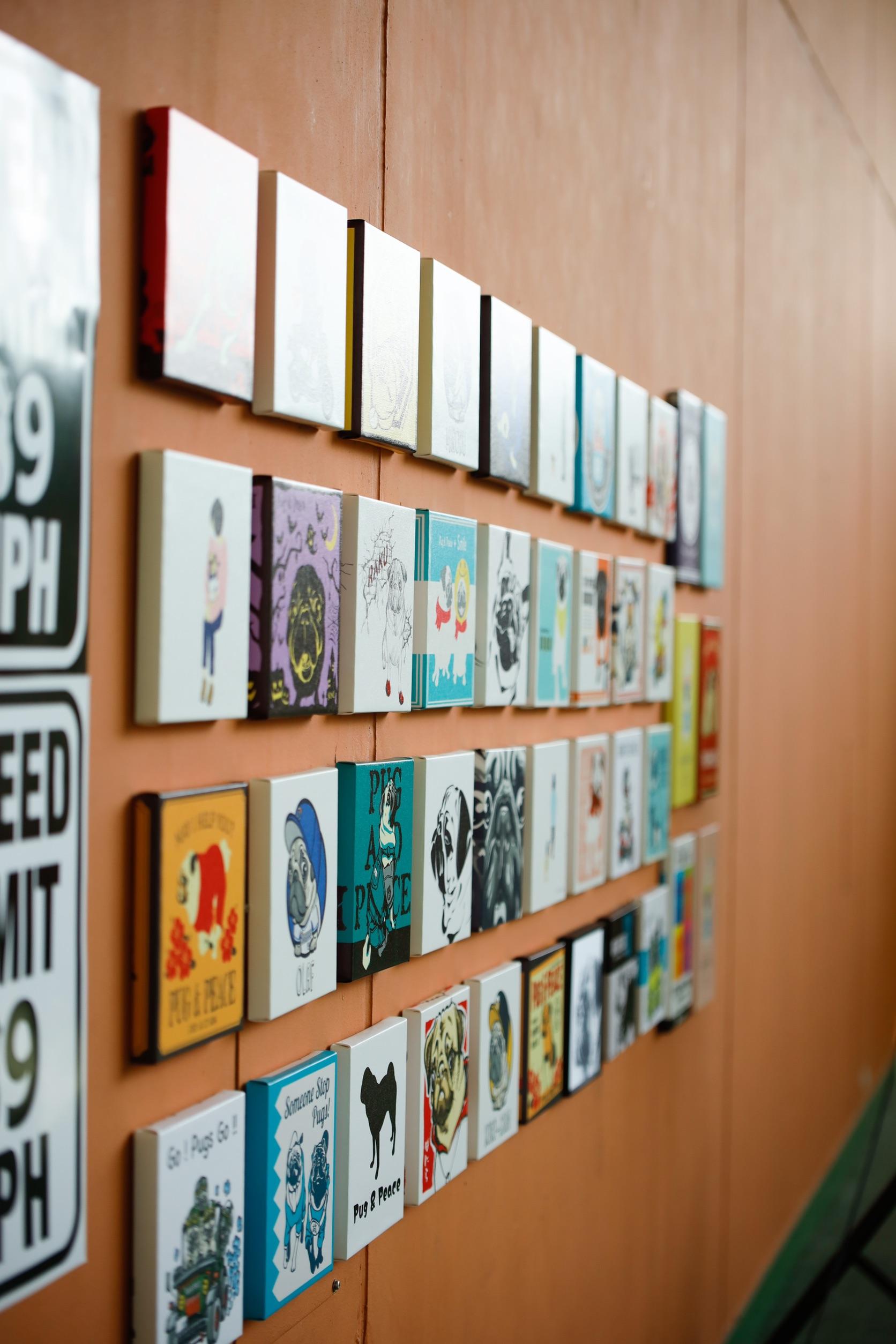パグフェス20x21での作品展示