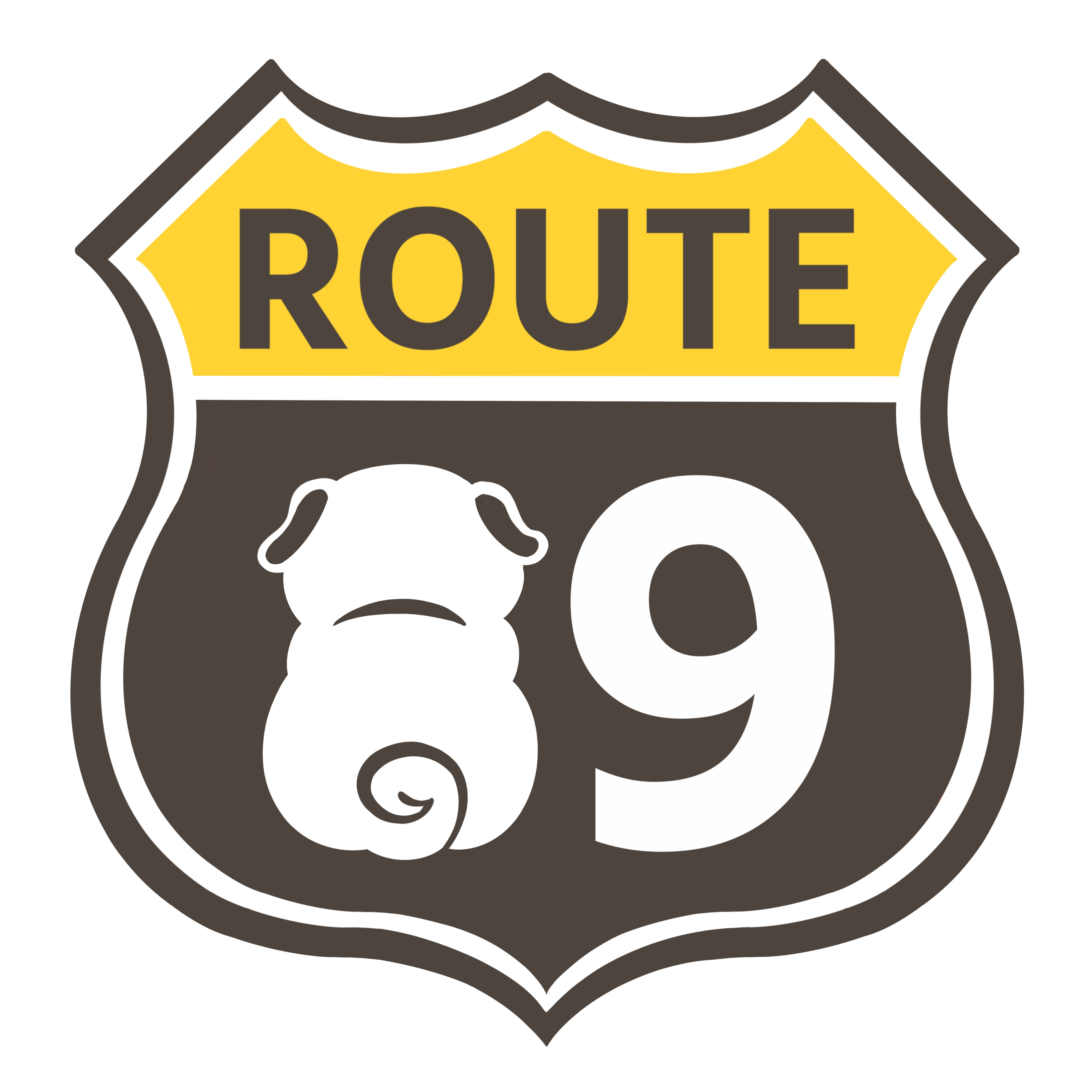 Route89 ステッカー新色!