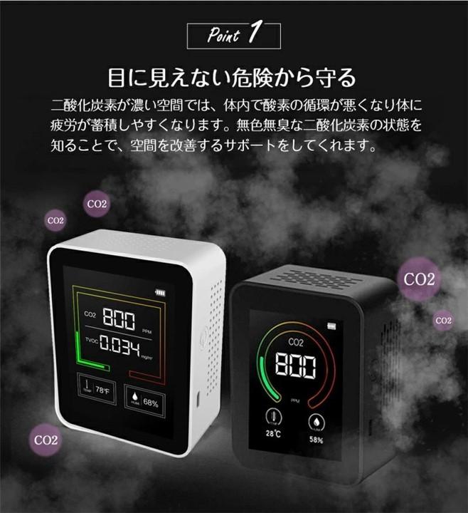 『二酸化炭素濃度測定器』販売開始しました。