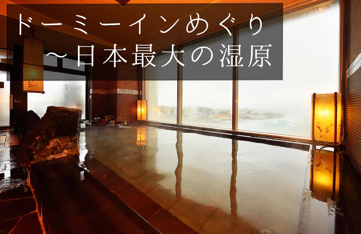 ドーミーインめぐり<56> 〜日本最大の湿原