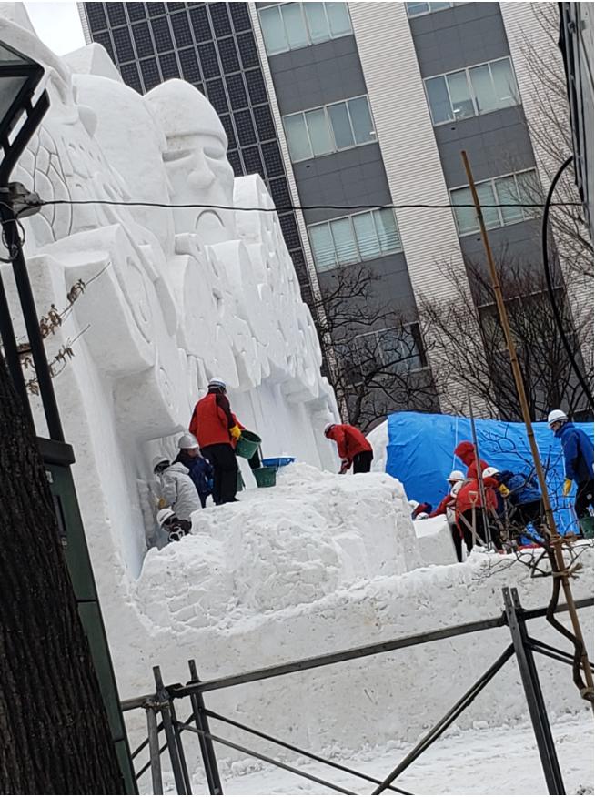 札幌のイベント~札幌雪まつり~