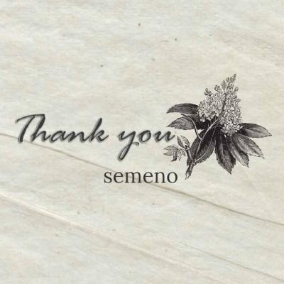 【店名が変わります】これまでsemenoをご愛顧頂きまして有難うございました