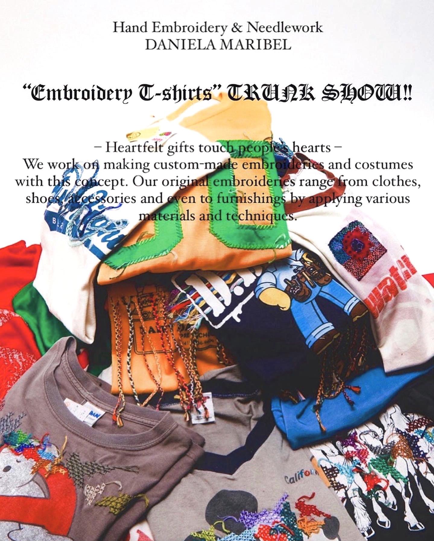 "LANTIKI ""Embroidery T-shirt"" TRUNK SHOW"