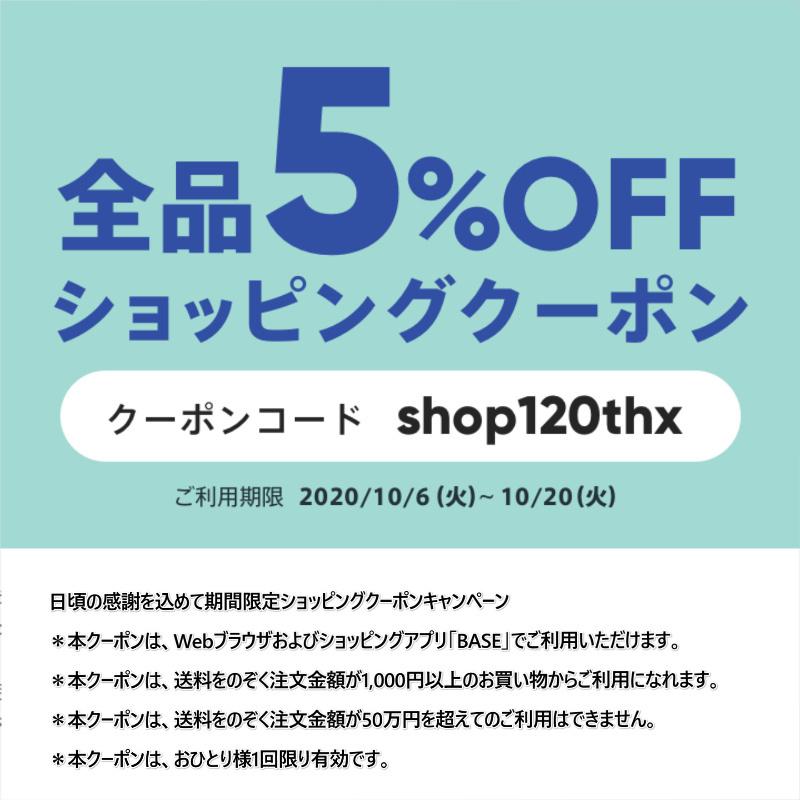 【期間限定】お買い物5%割引クーポンプレゼントのお知らせ