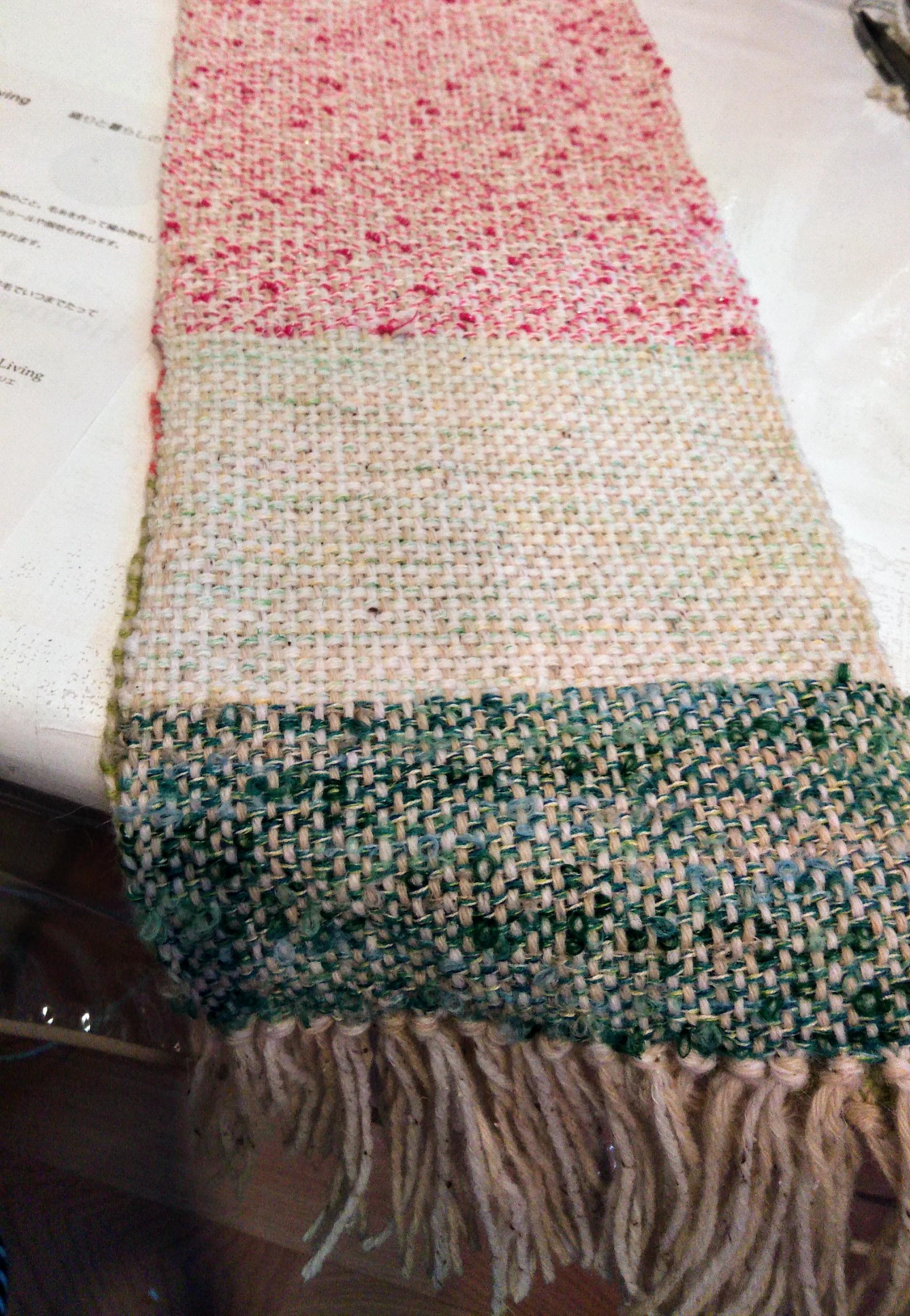 手織り体験レッスン