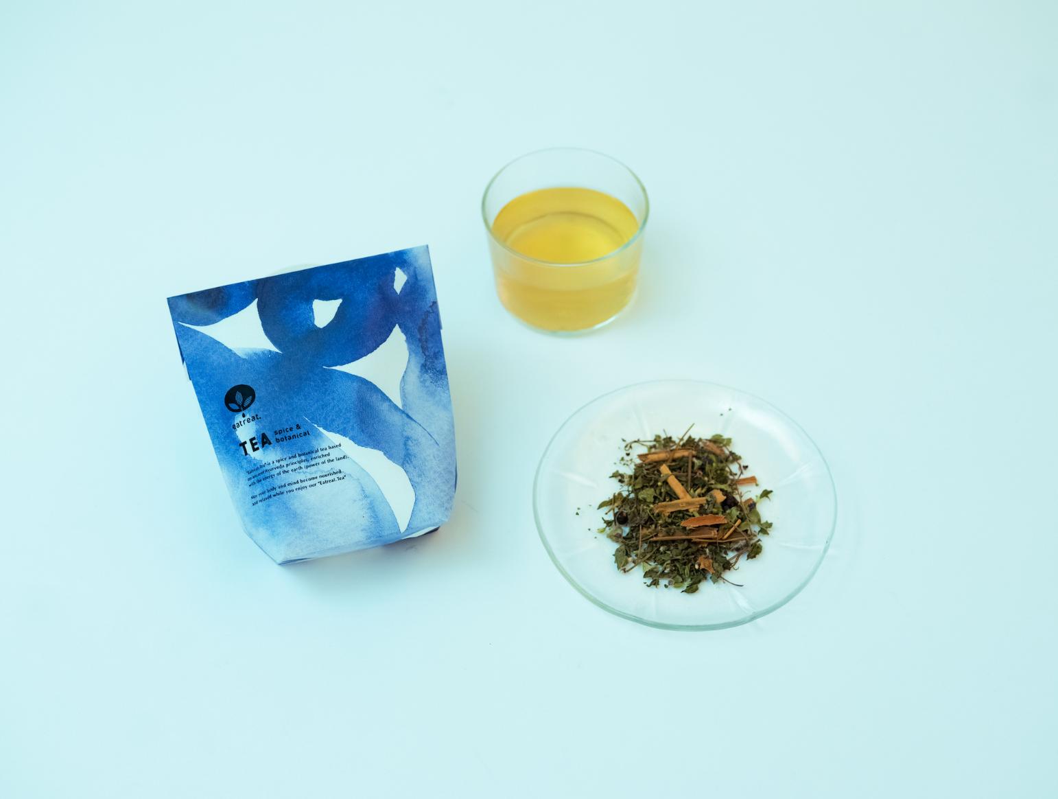 【eatreat.TEA STORY】健康は調子の良い胃腸から。「おなかに、すっきりリセット茶」
